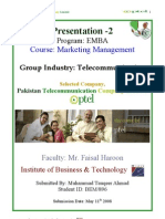 Ptcl Company Report Final by Tauqeer 2