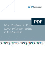 What you Need to Know about Software Testing in the Agile Era