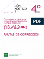 Pautas Correccion Lengua PRIMARIA 2011 2012