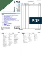 Sony Dsc-w630 Ver1.1 Level2