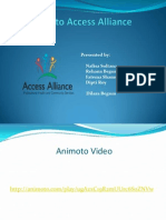 Visit to Access Alliance