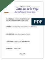 Matematica Financiera y Actuarial