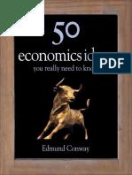 50 Economics Ideas You Really N - Edmund Conway