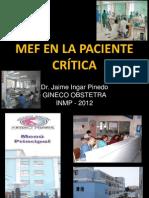 2   00   Monitoreo clínico y electrónico materno fetal de la paciente en estado crítico