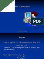 1.4 - Letter of Application