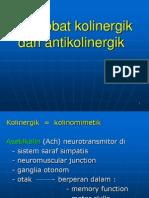 4. Obat Kolinergik & Antikolinergik