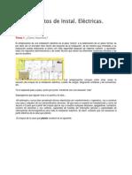 Anteproyectos de Instalaciones Electricas