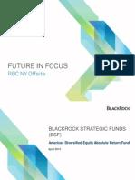 Blackrick Strategic Funds