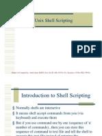 Unix Shell Scripting 1