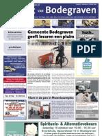 De Krant van Bodegraven, 9 oktober 2009