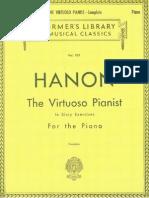 HANON_The Virtuoso Pianist