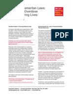DPA Fact Sheet 911 Good Samaritan Laws Feb2014