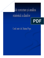 Introducere in Statistica SPSS 101
