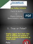 wapsie valley schools olweus data k-12