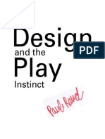 Design and the Play Instinct