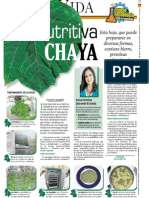 La Nutritiva Chaya