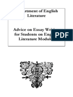 Style Guide for English Literature Students