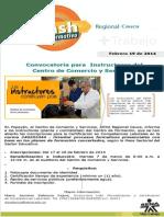 Flash Convocatoria Instructores Certifi.