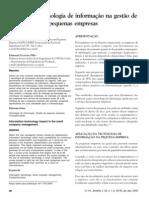 Impacto da tecnologia de informação na gestão de PE