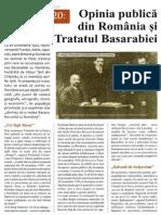 Despre Tratatul de Pace Paris 1920