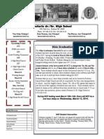 FJSHS Newsletter