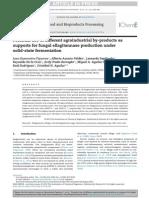 Uso potencial de productos agroindustruales en le producción de la enzima elagintanasa