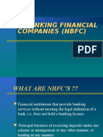 Non-banking Financial Companies (Nbfc)