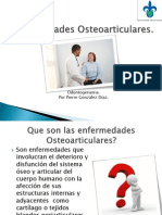 Enfermedades Osteoarticulares