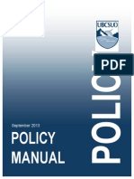 Policy Manual