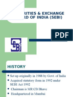 Securities & Exchange Board of India (Sebi)