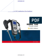 Kimo Kigaz 150 Combustion Gas Analyzer Manual