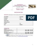 Tariff Training 2014 Registration Form Eng