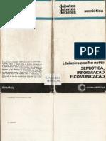 17016801 Semiotica Informacao e Comunicacao J Teixeira Coelho Netto