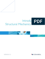 COMSOL_43_IntroductionToStructuralMechanicsModule