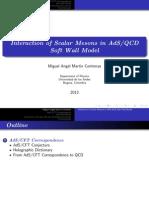 AdS QCD Model