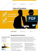 Solution in Detail Finance Manage Enterprise Risk and Compliance