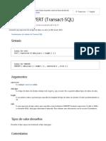 Cast y Convert Fechas(Transact SQL)