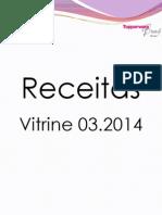 Receitas Vitrine 03.2014