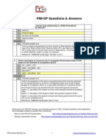 Free PMI-SP Answers