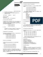 Raciocio Lógico e Matematica- Questoes