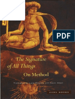 Agamben the Signature of All