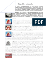 Dispozitive Ortodontice