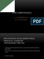 core competencies ii somb