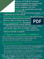 Valid Consent - Ethics