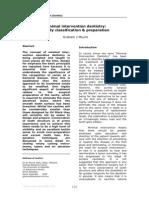Cavity Classification&Preparation