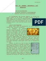 Microorganismos y Productos