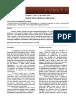 0006.01 Influencias Condicao Periodontal Gestante