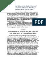 Geneva Convention of 1929