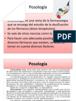 Posología