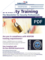 Graduate School USA - Security Training newsletter - Vol. 1 Iss. 3